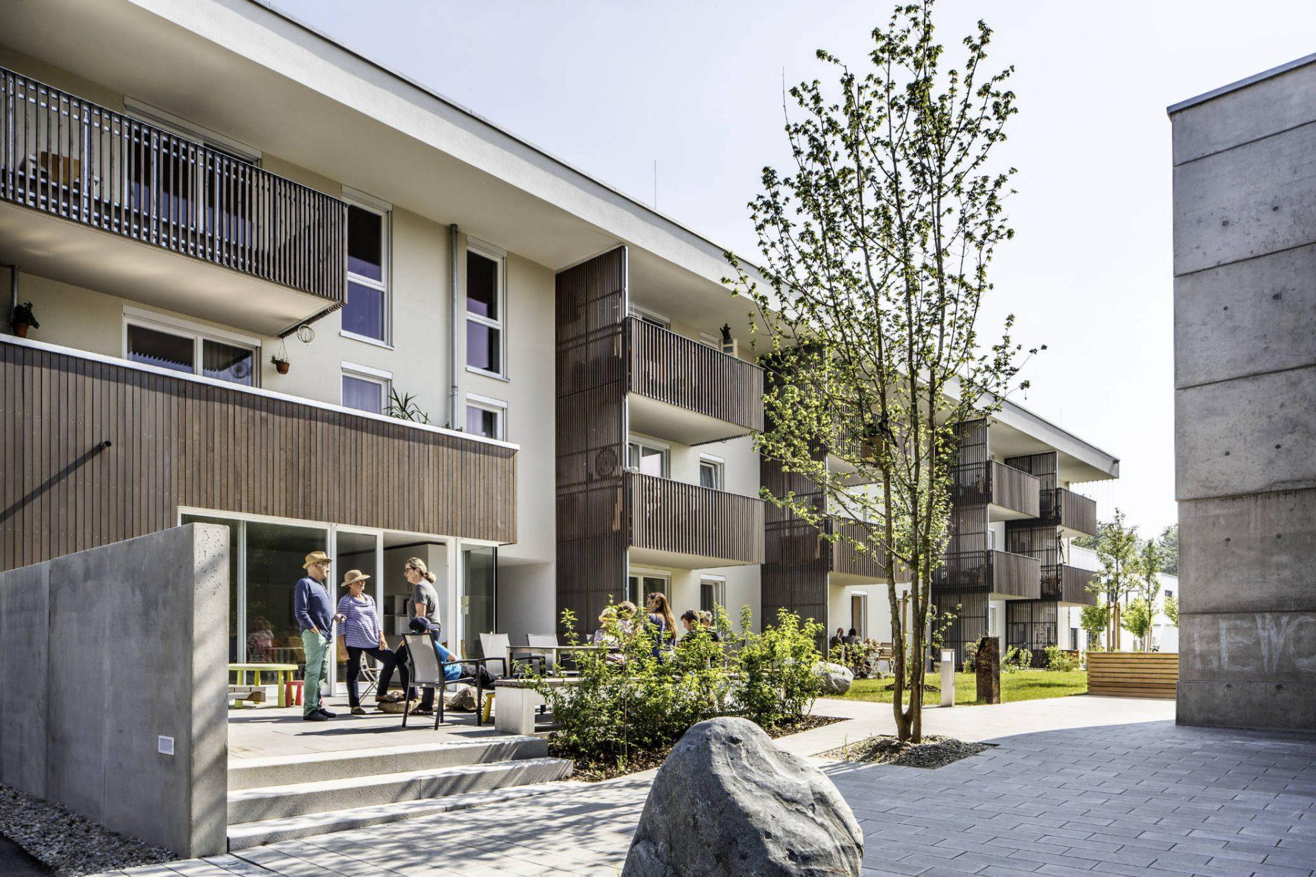Gemeinschaftliches Wohnen an der Isar