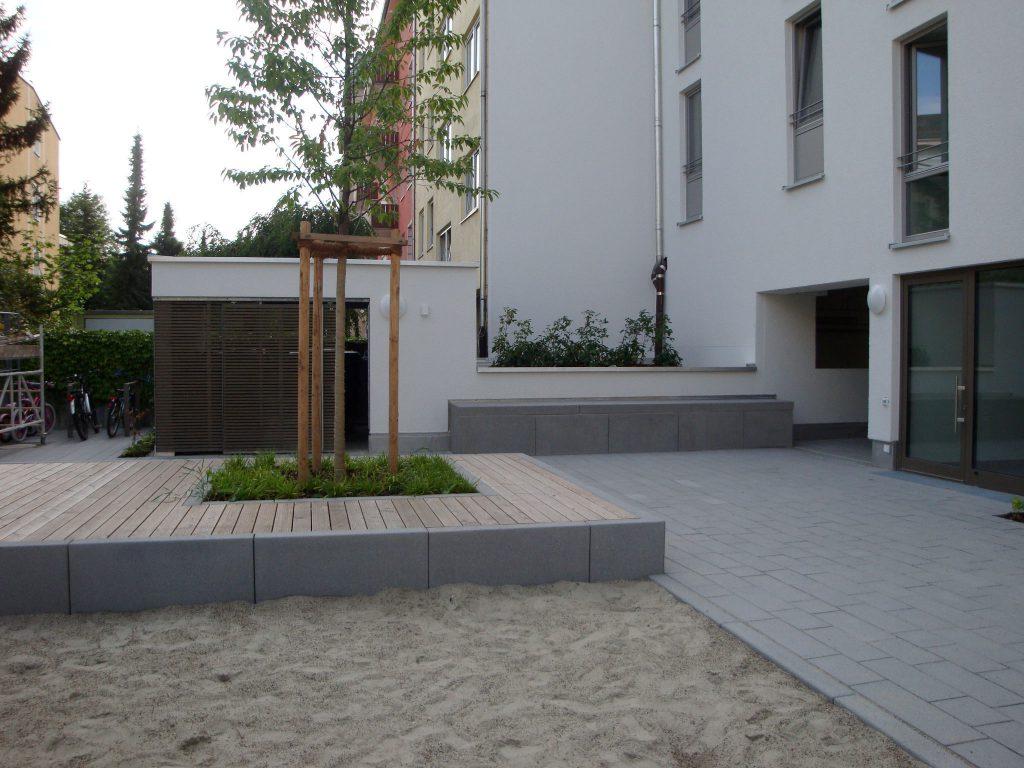 Wohnanlage Partnachplatz