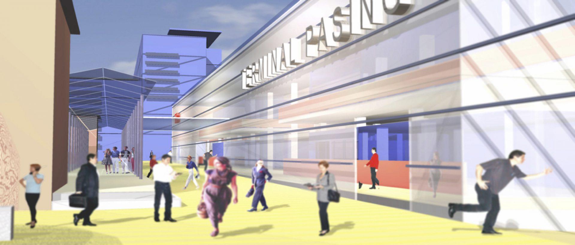Zentrale Bahnflächen