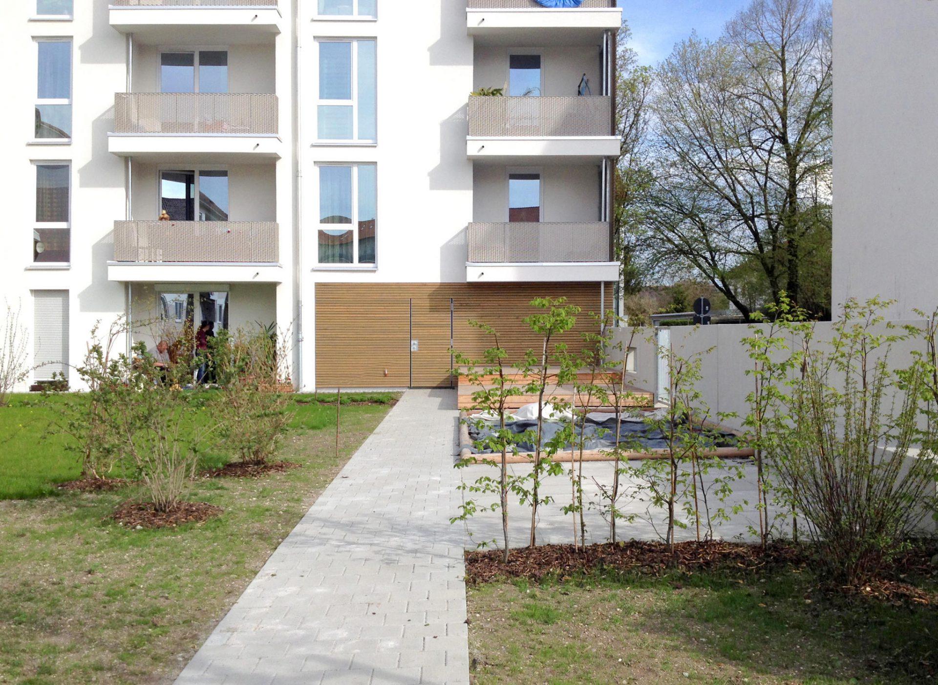 Wohnanlage Wessobrunner Straße