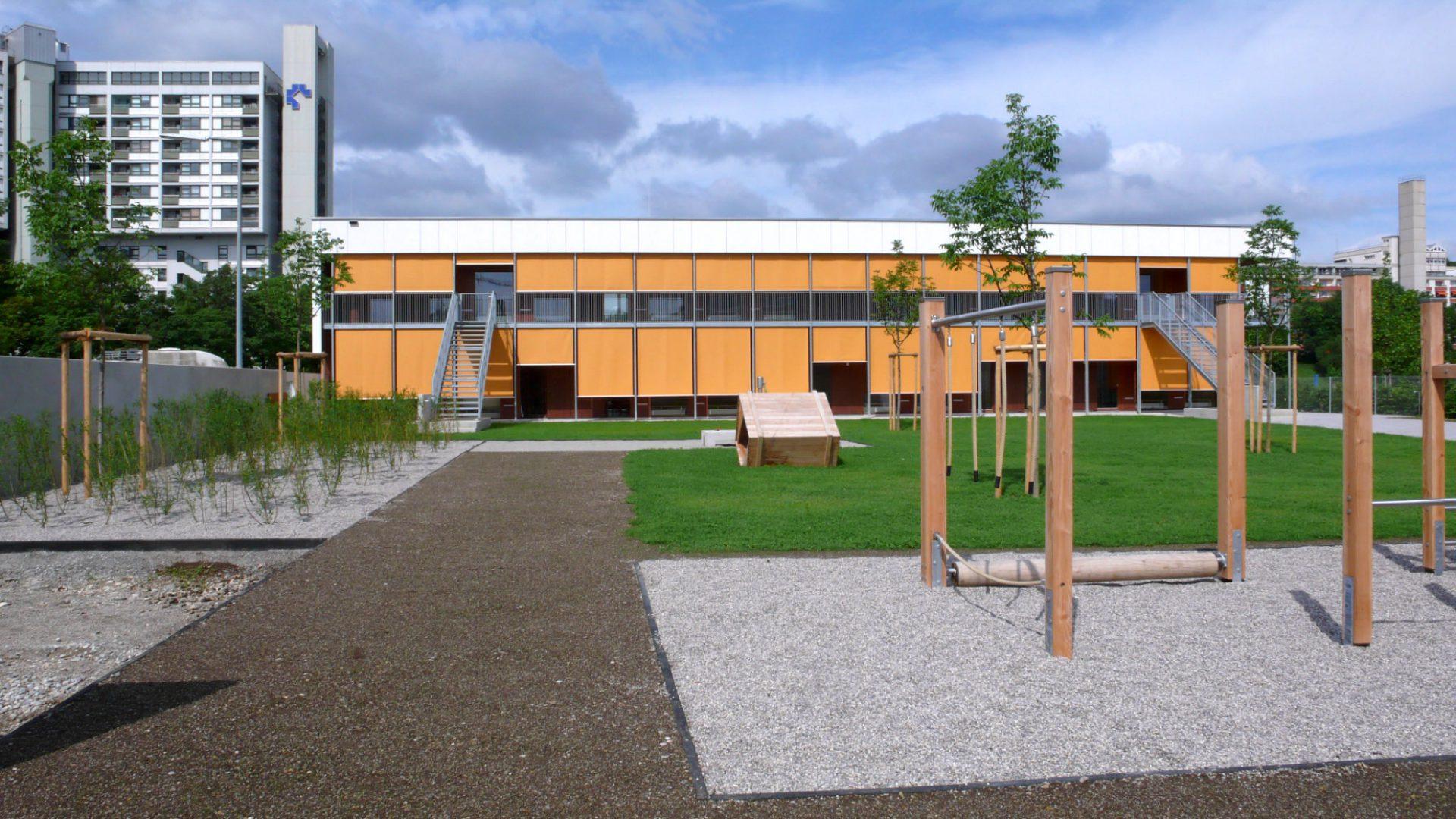 Kindertageseinrichtungen in Systembauweise