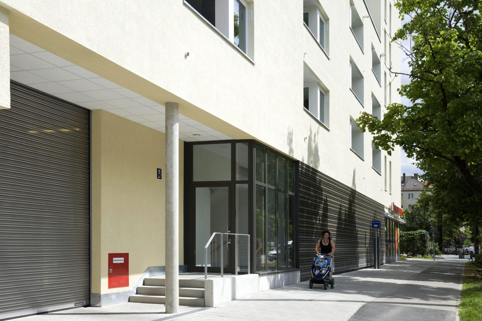 Wohn- und Geschäftshaus Thalkirchnerstraße