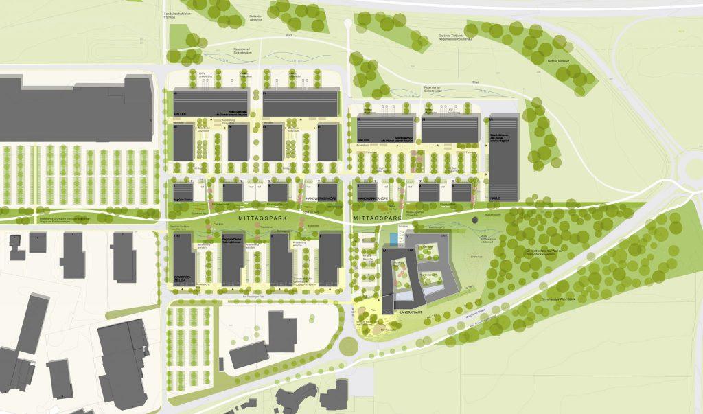 Wettbewerb Neubau Landratsamt Landsberg